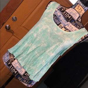 Soft cropped tank top